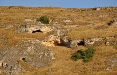 Dormire in una grotta tra i sassi di Matera